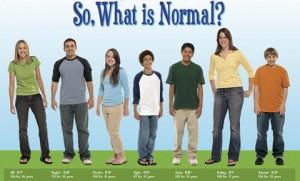 """¿Quién es el o la """"normal""""?"""