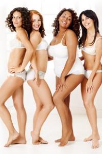 ¿Creéis que estas chicas tienen las mismas reglas y metabolismo?