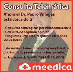 Consulta telemática con el Dr. Pedro Villegas en meedica