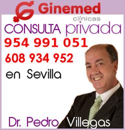Consulta privada Dr. Pedro Villegas en clínicas Ginemed